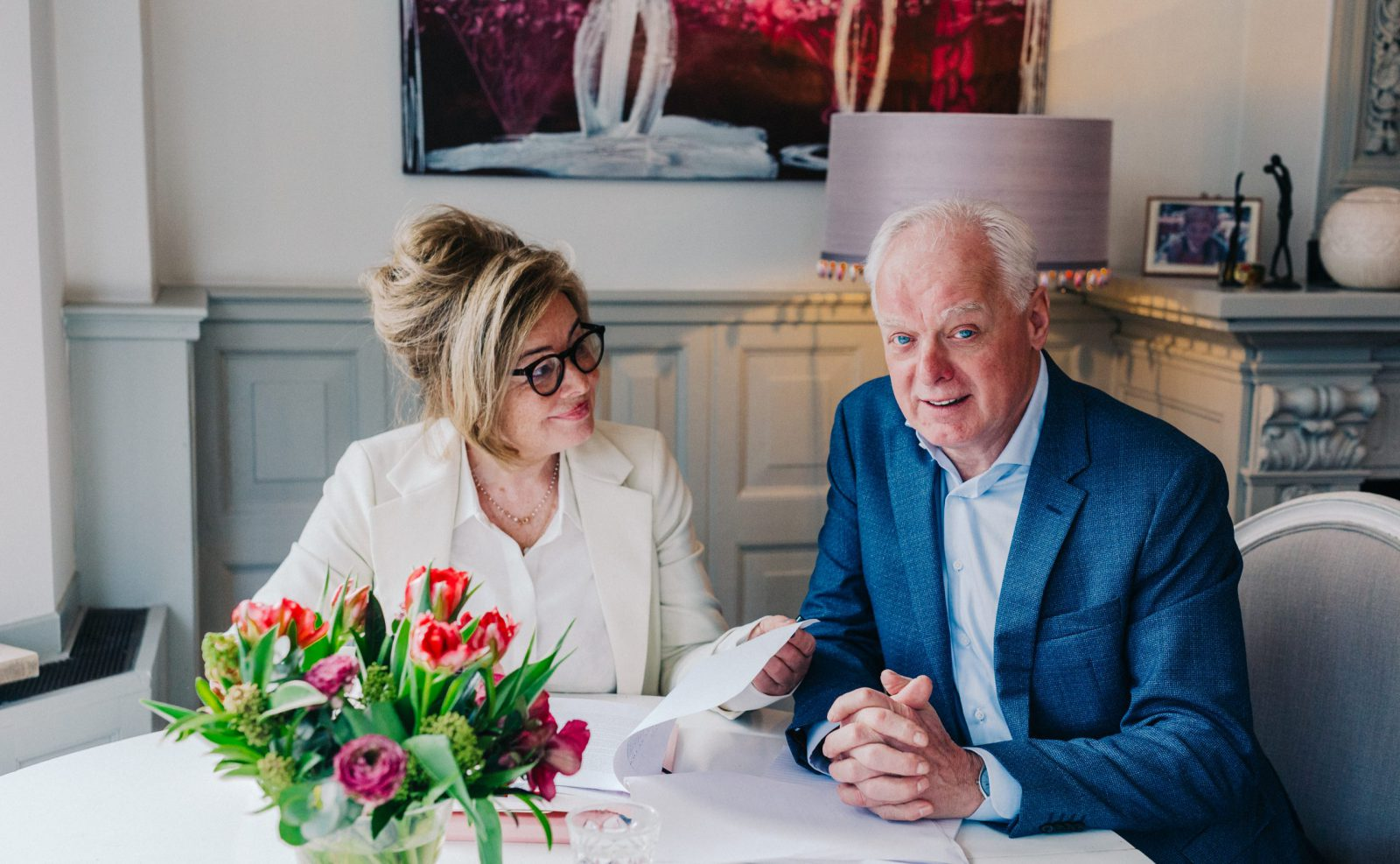 Annelies Verhoeff en René de Haas, advocaten en mediators